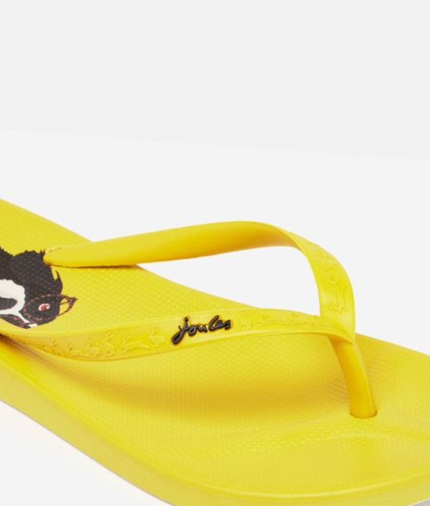 Flip Flops Yellow Dog. Klipklapper fra Tom Joules